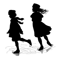 25 Beautiful Black And White by 25 Beautiful Silhouette Images The Graphics Fairy
