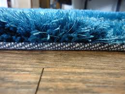 Shaggy Runner Rug Handmade Turquoise Dimensional Shag Area Rug Rug Addiction