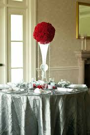 Topiary Balls With Flowers - simple topiary ball on a reversible trumpet vase simple elegance