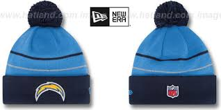 chargers thanksgiving day knit beanie hat by new era at hatland c