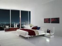 modern master bedroom suite