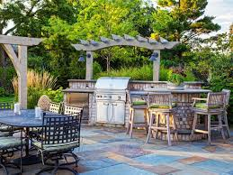 Outdoor Kitchen Designs With Pizza Oven by 130 Best Outdoor Kitchens Images On Pinterest Outdoor Kitchens