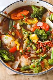 this weight loss vegetable soup recipe is one of our favorites