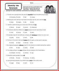 parts of speech worksheets middle shishita world com