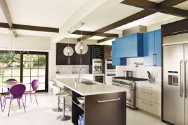 modern kitchen designs with art deco decor and accents in art