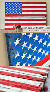 diy wall how to make a reclaimed wood american flag