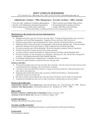 Office Administration Resume Sample by Office Administration Resume Skills Virtren Com