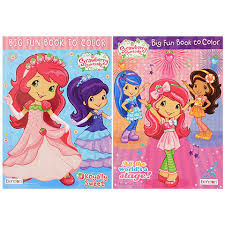 bulk strawberry shortcake giant coloring books 112 pages