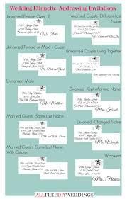 Planning My Own Wedding Wedding Invitation Etiquette How To Address Wedding Invitations