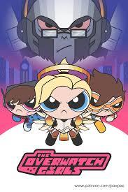 Mojo Jojo Meme - winston as mojo jojo with the overwatch girls overwatch