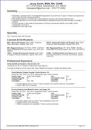 Free Nurse Resume Template Free Nursing Resume Samples Resume Template And Professional Resume