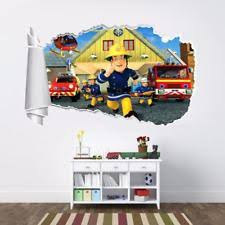 fireman sam sticker ebay