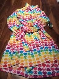 emoji robe beeposh big kids rainbow emoji ultra plush robe size l 14 16 years