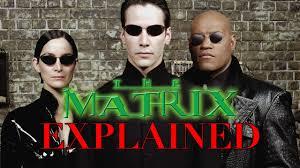 the matrix trilogy explained sub ita youtube