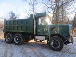 autocar commercial trucks 1987 autocar dump truck dk64 for sale