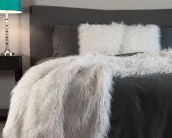 Faux Fox Fur Throw Chanasya Mangolian Soft Shaggy Faux Fur Throw Blanket U0026 Reviews