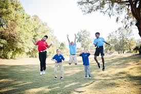 think you know golf think again the first tee makes junior golf fun