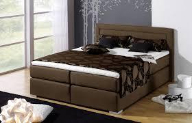 Schlafzimmer Braunes Bett Braunes Boxspringbett In 180 X 200 Cm In H3 Bis 120 Kg Houston