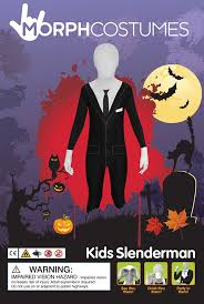 morphsuits halloween city amazon com morphsuits kpsml slender man kids morphsuit costume