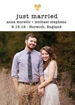 wedding announcements custom photo wedding announcements paper source