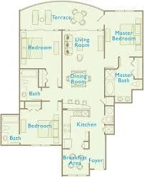 2 Bedroom Condo Floor Plan Aqua Beachside Resort Floor Plans In Panama City Beach