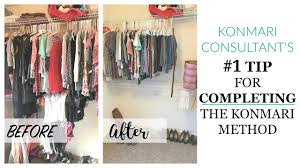 konmari best tip for completing the method youtube