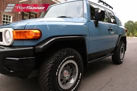 2014 Toyota Fj Cruiser Interior 2014 Toyota Fj Cruiser Trail Teams Edition 1 Of 2500 Made 9 Miles
