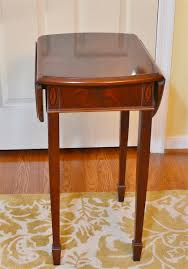 Square Drop Leaf Table Copley Square Drop Leaf Table By Hekman Furniture Co