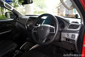 mitsubishi strada 2016 interior test drive review mitsubishi triton vgt lowyat net cars