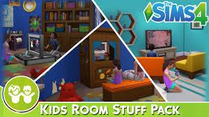 the sims 4 kids room stuff pack review youtube