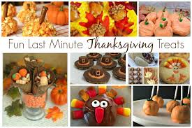 last minute thanksgiving treats and delicious dishes recipe