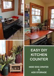 my great challenge easy diy kitchen counter