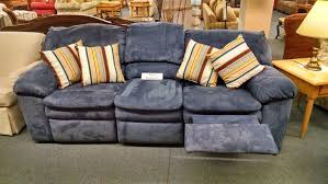 Berkline Reclining Loveseat Berkline Blue Reclining Sofa Delmarva Furniture Consignment