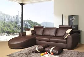 Modern Brown Leather Sofa by Modern Brown Leather Sofa Sleepers That Can Be Applied On The