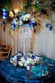 Blue Wedding Centerpieces by October Wedding Centerpieces Wedding Decorations Pinterest