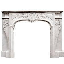 french chateau louis xiv style sandstone fireplace circa 1850s