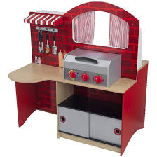 kidkraft grill n u0027 bake kitchen 125733 toys at sportsman u0027s guide