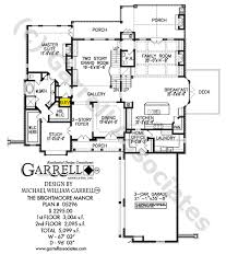 porch house plans brightmoore manor house plan house plans by garrell associates inc