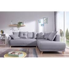 destockage canape d angle bobochic lena canapé scandinave d angle droit gris clair