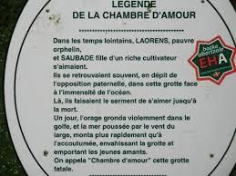 chambre d amour biarritz légende de la grotte de la chambre d amour anglet photo de