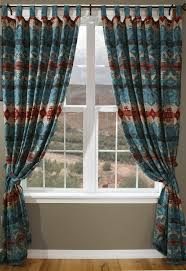 Textured Cotton Tie Top Drape by Best 25 Southwestern Curtains Ideas On Pinterest Southwestern