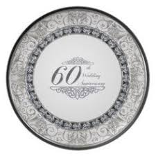 60th anniversary plate 60th wedding anniversary gift ideas personalized 60 wedding