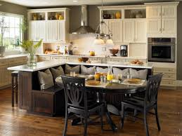 wood raised door merapi eat in kitchen island backsplash cut tile