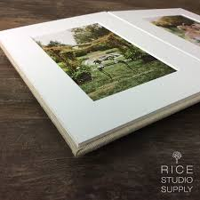 matted photo album matted folio albums with linen silk cover handcrafted in usa