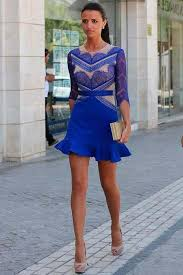 dress blue what accessories to combine cobalt blue dress photography