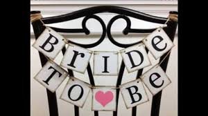 Bridal Shower Decoration Ideas by Simple Bridal Shower Banners Decorating Ideas Youtube