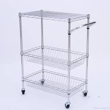 Wire Shelf Cart Wire Kitchen Cart U2013 Home Design And Decorating