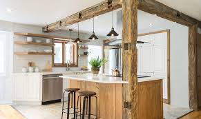 white kitchen cabinets with wood interior 25 kitchens in wood and white refined cozy and