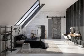 Schlafzimmer In Grau Moderne Schlafzimmer In Industrie Design In Weiß Und Grau U2013 Ideen