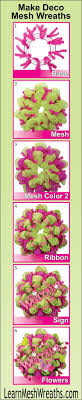 deco mesh supplies how to make a spiral deco mesh wreath diy spiral deco mesh